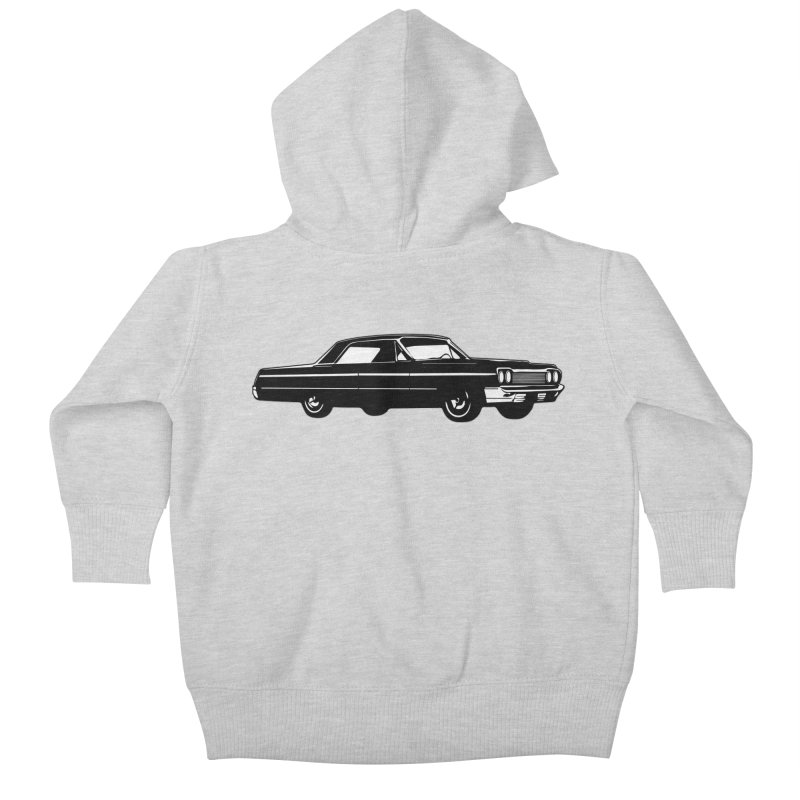 '64 Impala Kids Baby Zip-Up Hoody by Midnight Studio