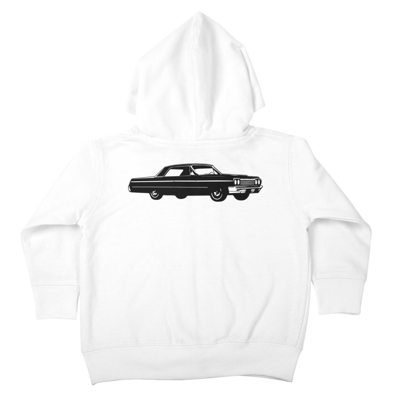 '64 Impala Kids Toddler Zip-Up Hoody by Midnight Studio