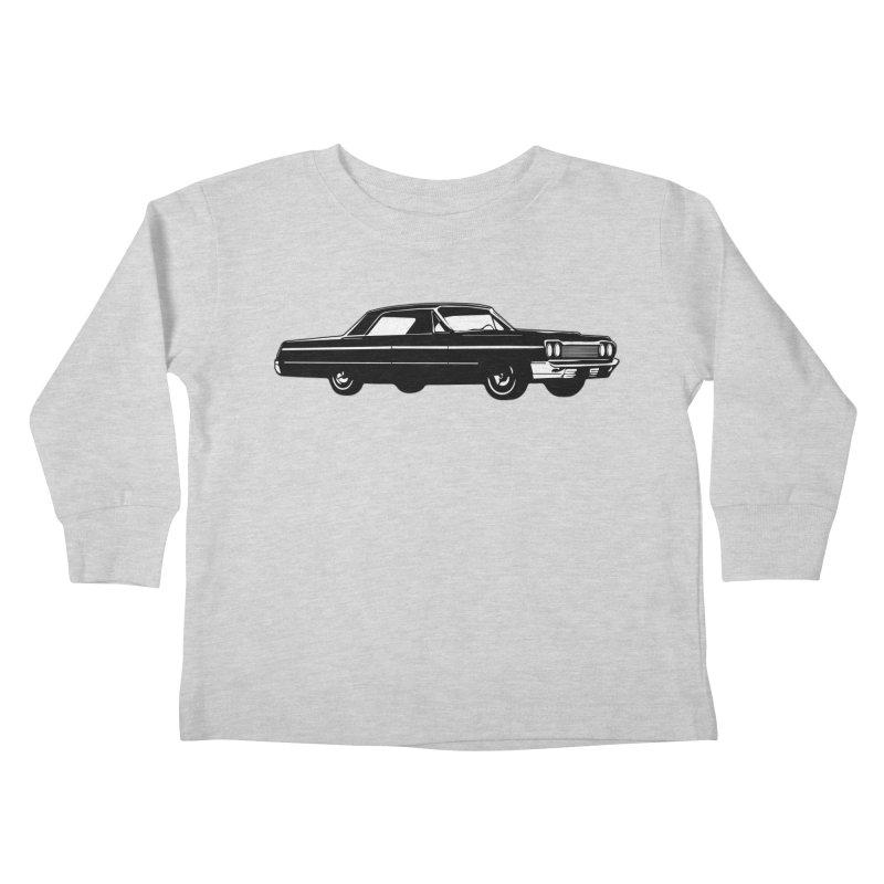'64 Impala Kids Toddler Longsleeve T-Shirt by Midnight Studio