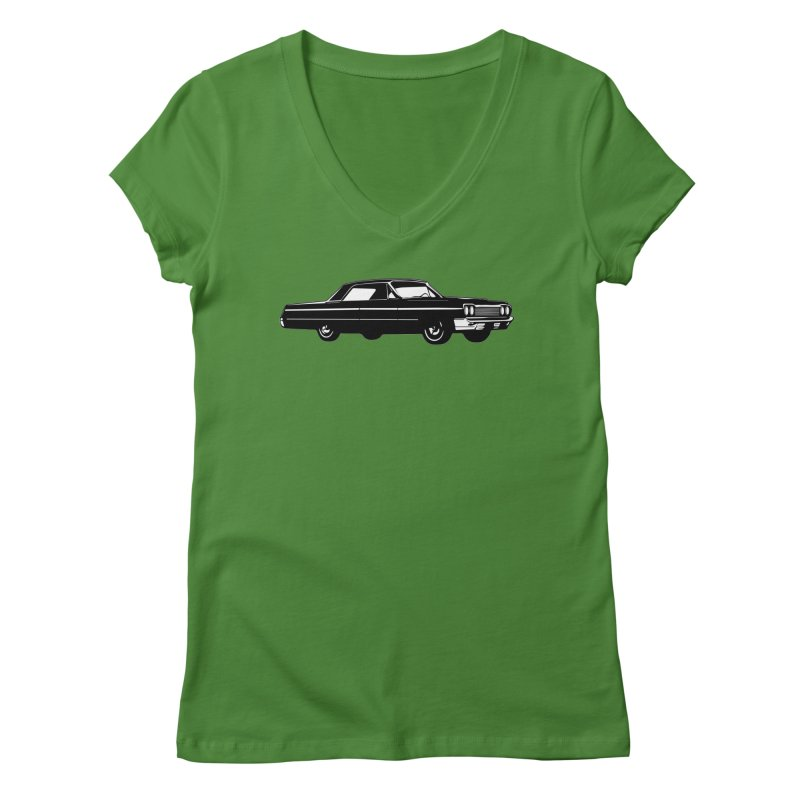 '64 Impala Women's Regular V-Neck by Midnight Studio