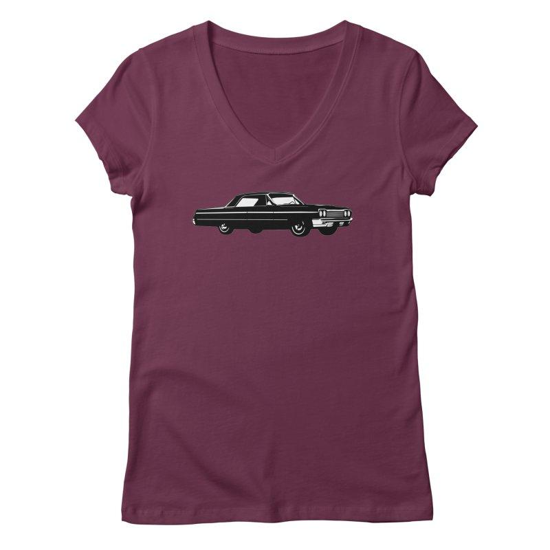 '64 Impala Women's Regular V-Neck by Midnight Studio