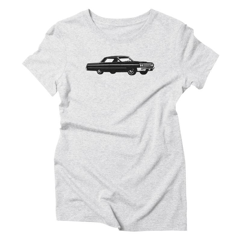 '64 Impala Women's Triblend T-Shirt by Midnight Studio