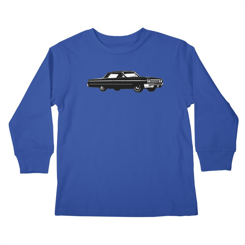 '64 Impala Kids Longsleeve T-Shirt by Midnight Studio