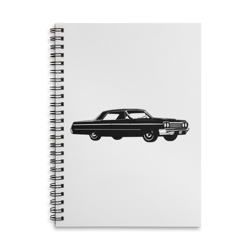 '64 Impala Accessories Lined Spiral Notebook by Midnight Studio