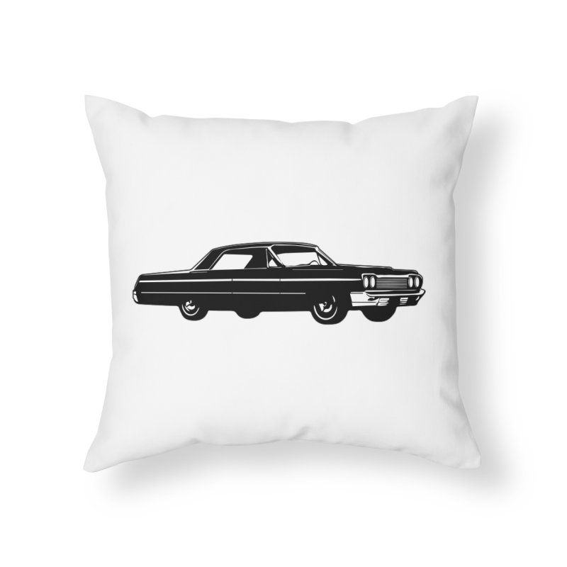 '64 Impala Home Throw Pillow by Midnight Studio