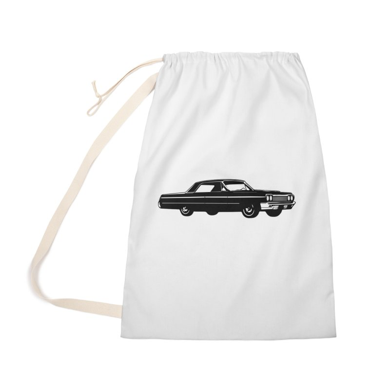 '64 Impala Accessories Laundry Bag Bag by Midnight Studio
