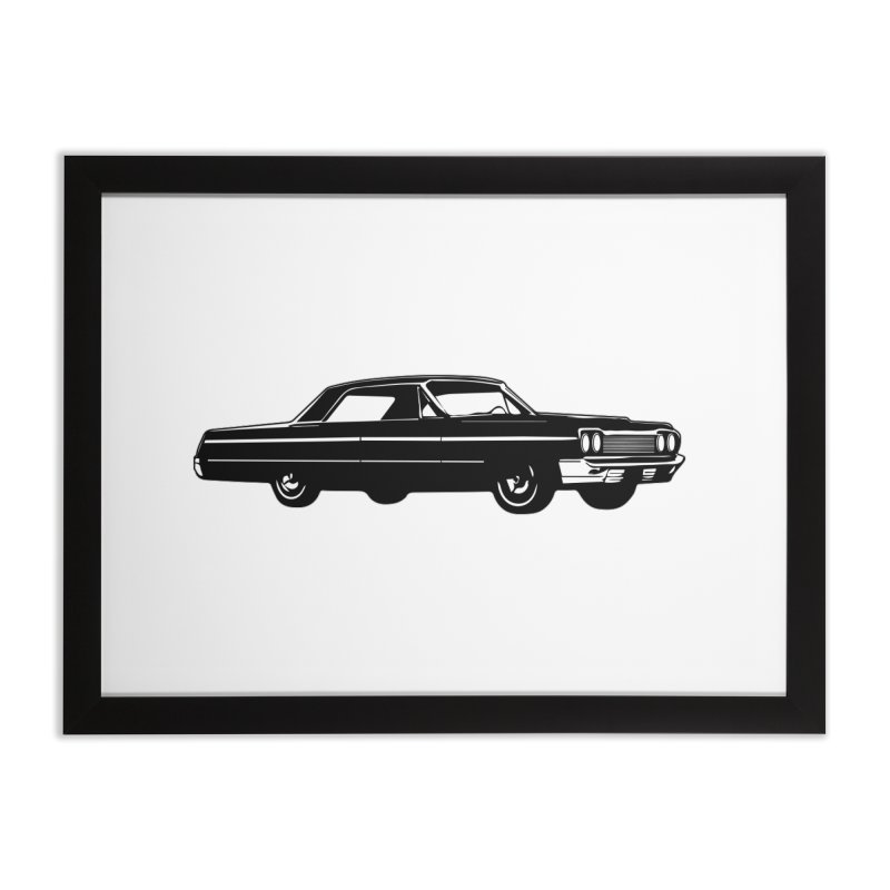 '64 Impala Home Framed Fine Art Print by Midnight Studio
