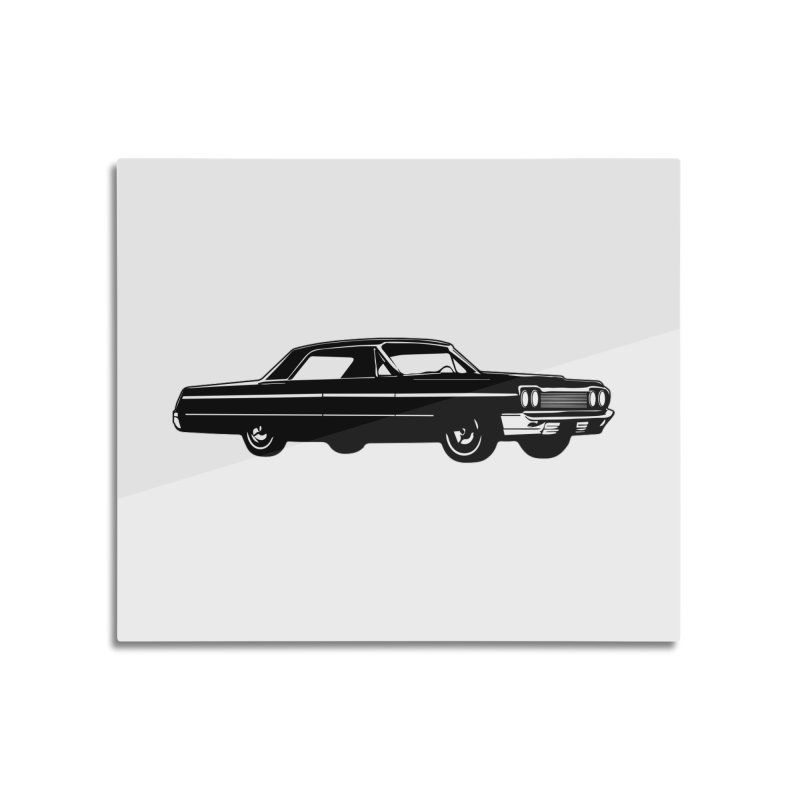 '64 Impala Home Mounted Aluminum Print by Midnight Studio