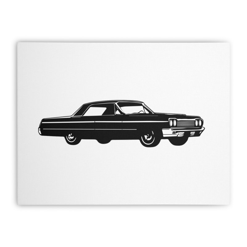 '64 Impala Home Stretched Canvas by Midnight Studio