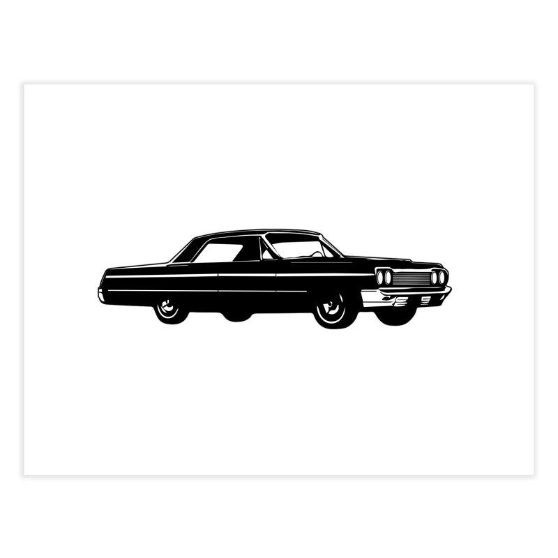'64 Impala Home Fine Art Print by Midnight Studio