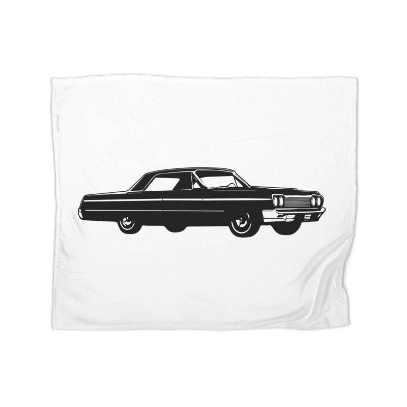 '64 Impala Home Blanket by Midnight Studio