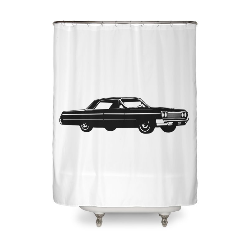 '64 Impala Home Shower Curtain by Midnight Studio