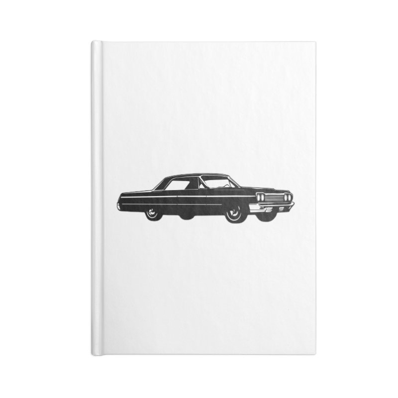 '64 Impala Accessories Lined Journal Notebook by Midnight Studio