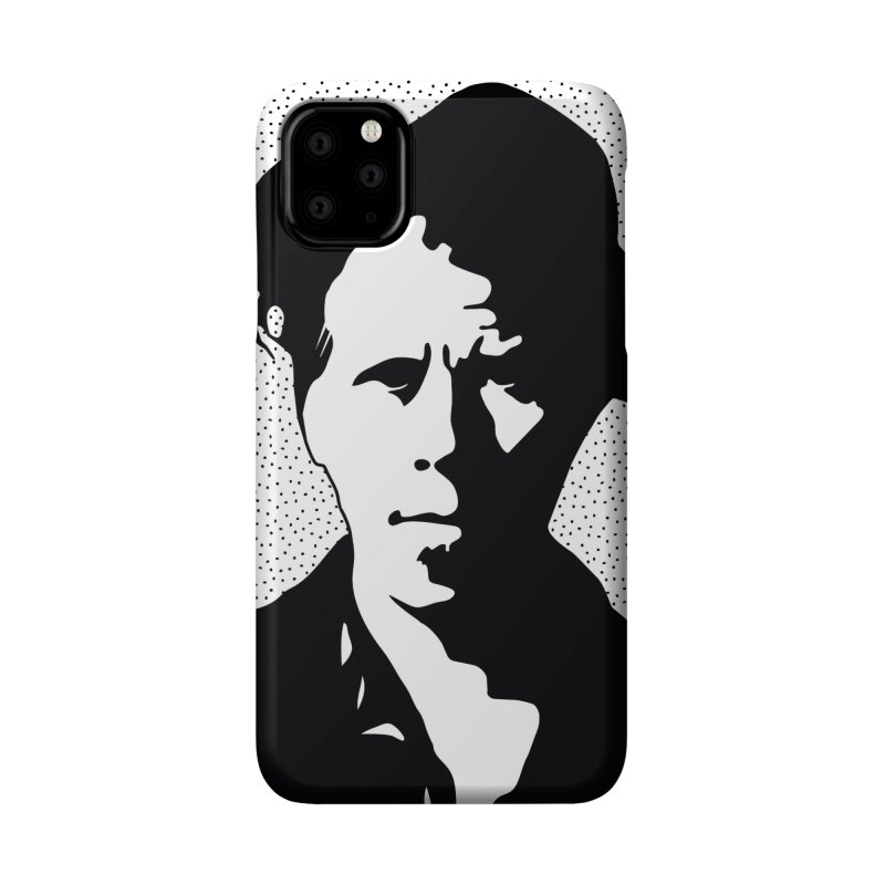 Tom Waits in White Accessories Phone Case by Midnight Studio
