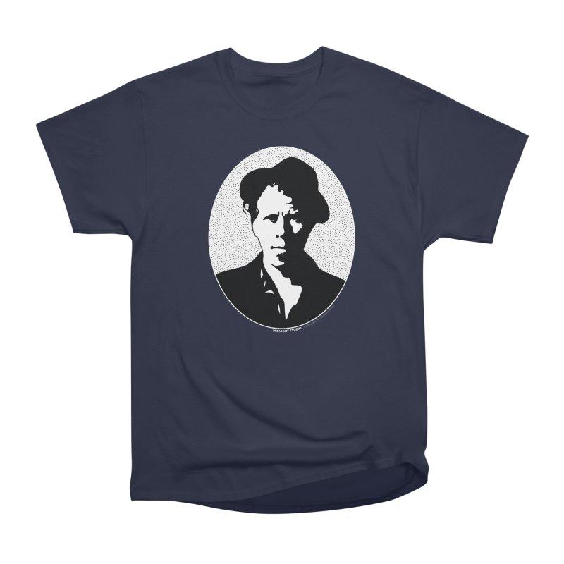 Tom Waits in White Men's Heavyweight T-Shirt by Midnight Studio