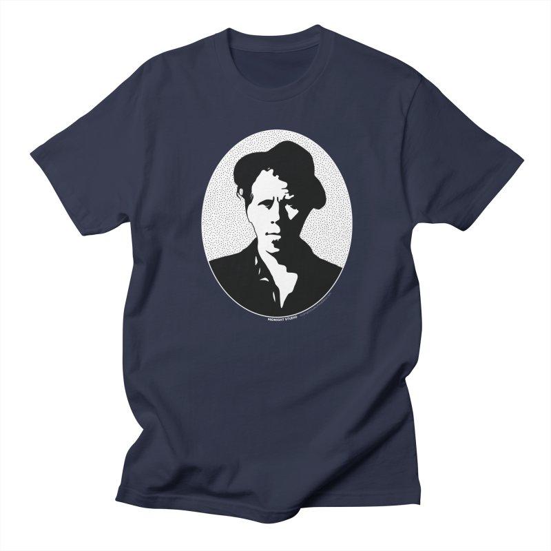 Tom Waits in White Men's Regular T-Shirt by Midnight Studio