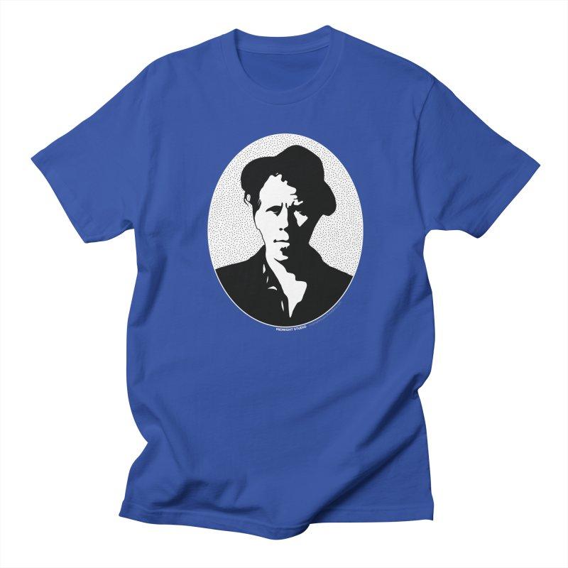 Tom Waits in White Women's Regular Unisex T-Shirt by Midnight Studio