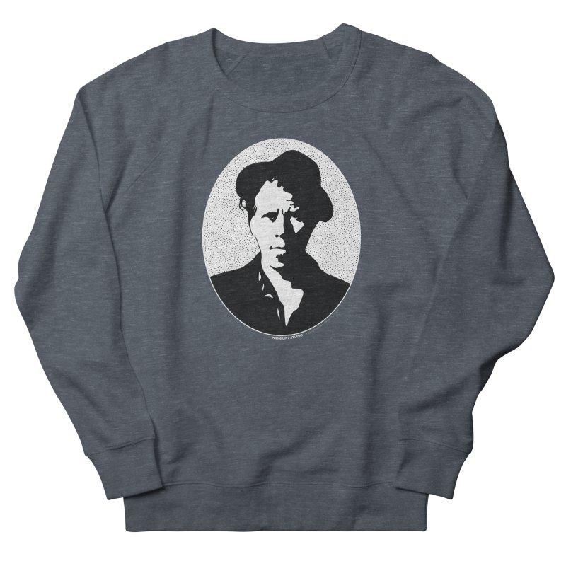 Tom Waits in White Women's French Terry Sweatshirt by Midnight Studio