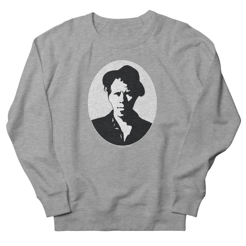 Tom Waits in White Women's Sweatshirt by Midnight Studio