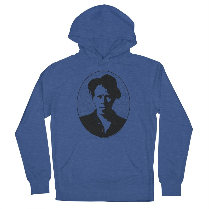 Tom Waits in Black Men's Pullover Hoody by Midnight Studio