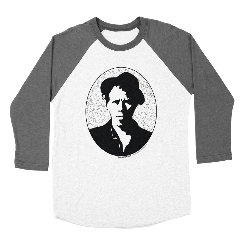Tom Waits in Black Women's Longsleeve T-Shirt by Midnight Studio