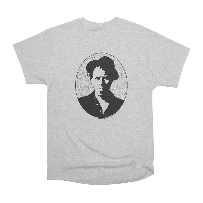 Tom Waits in Black Men's Classic T-Shirt by Midnight Studio