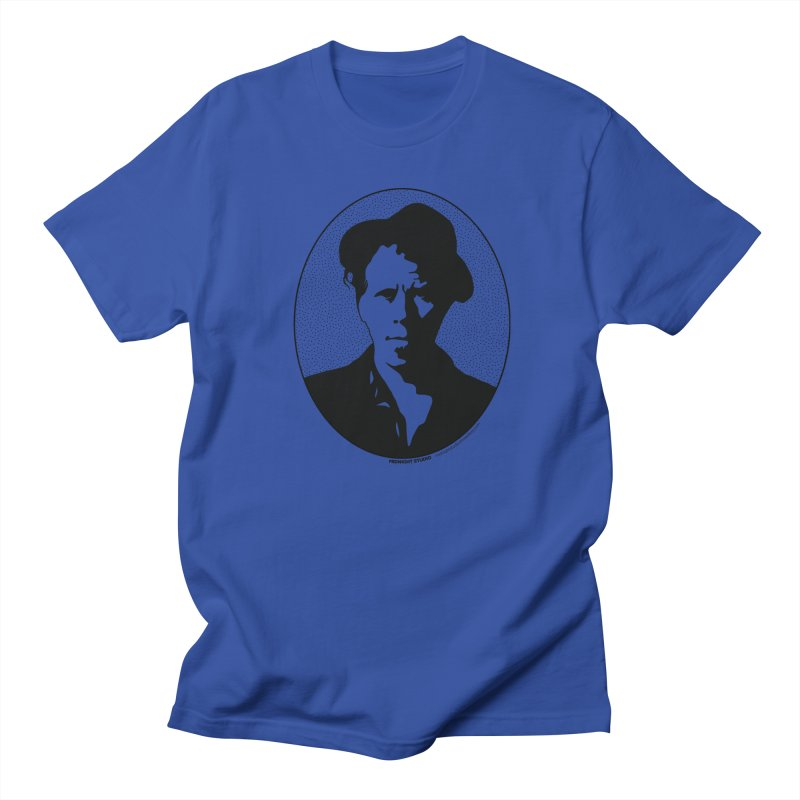 Tom Waits in Black Women's Regular Unisex T-Shirt by Midnight Studio