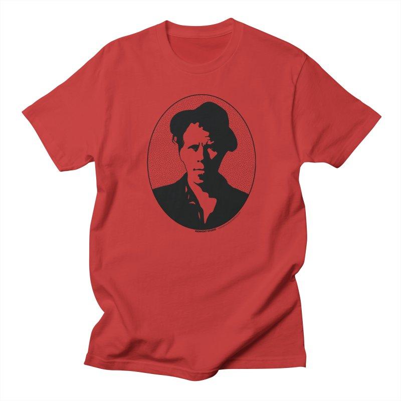 Tom Waits in Black Women's Regular Unisex T-Shirt by Midnight Studio