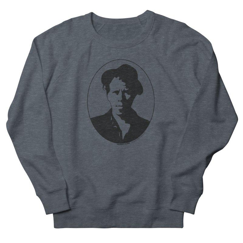 Tom Waits in Black Women's French Terry Sweatshirt by Midnight Studio