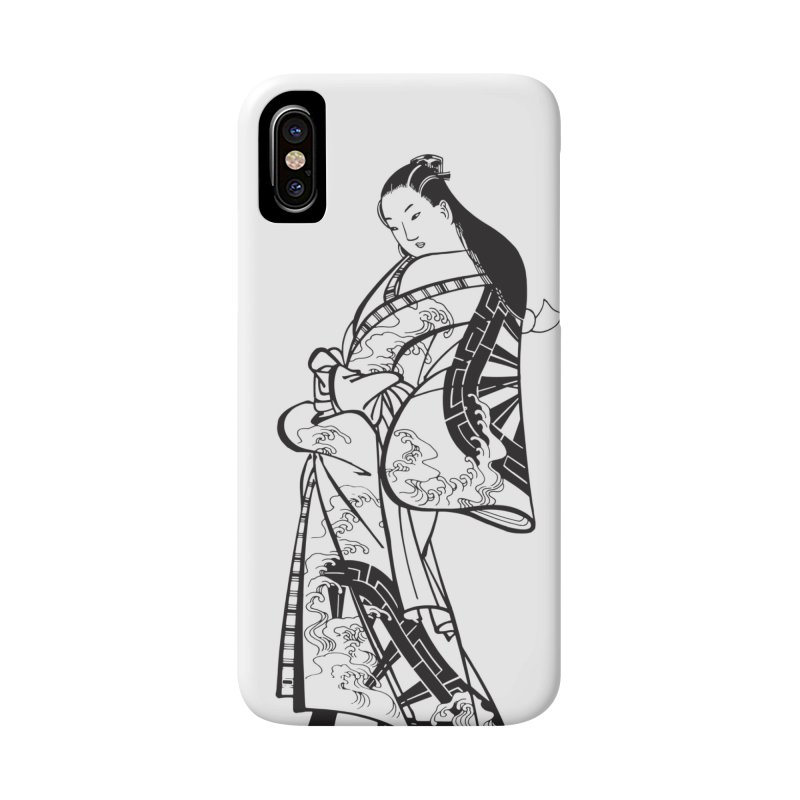 Geisha Accessories Phone Case by Midnight Studio