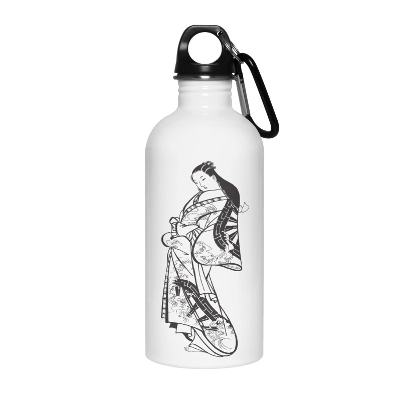 Geisha Accessories Water Bottle by Midnight Studio