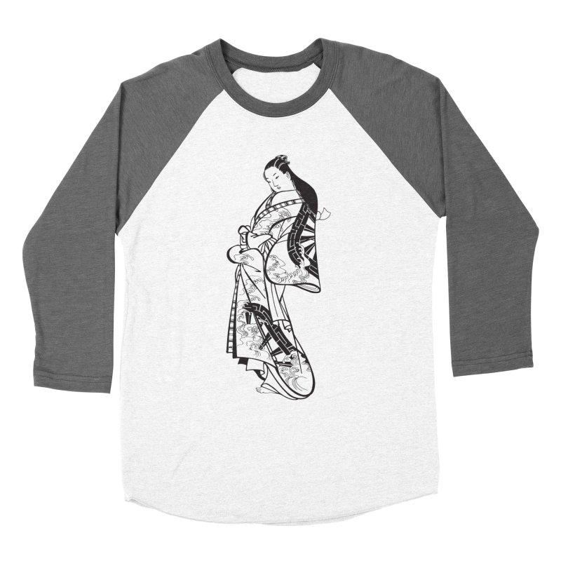 Geisha Women's Longsleeve T-Shirt by Midnight Studio