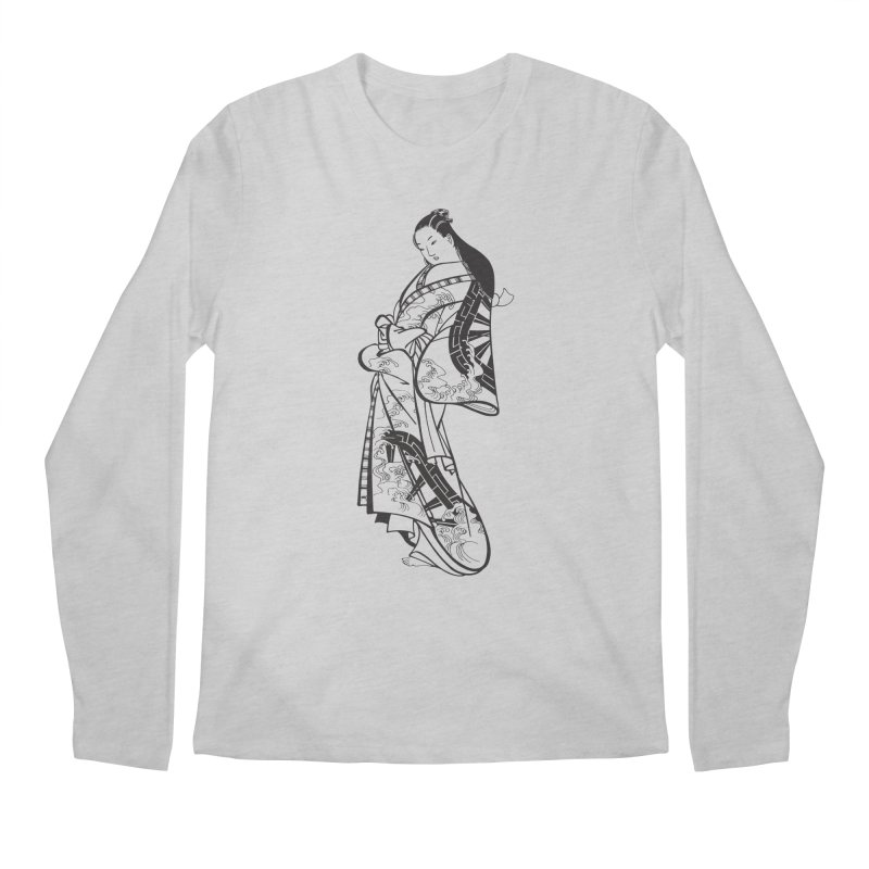 Geisha Men's Regular Longsleeve T-Shirt by Midnight Studio