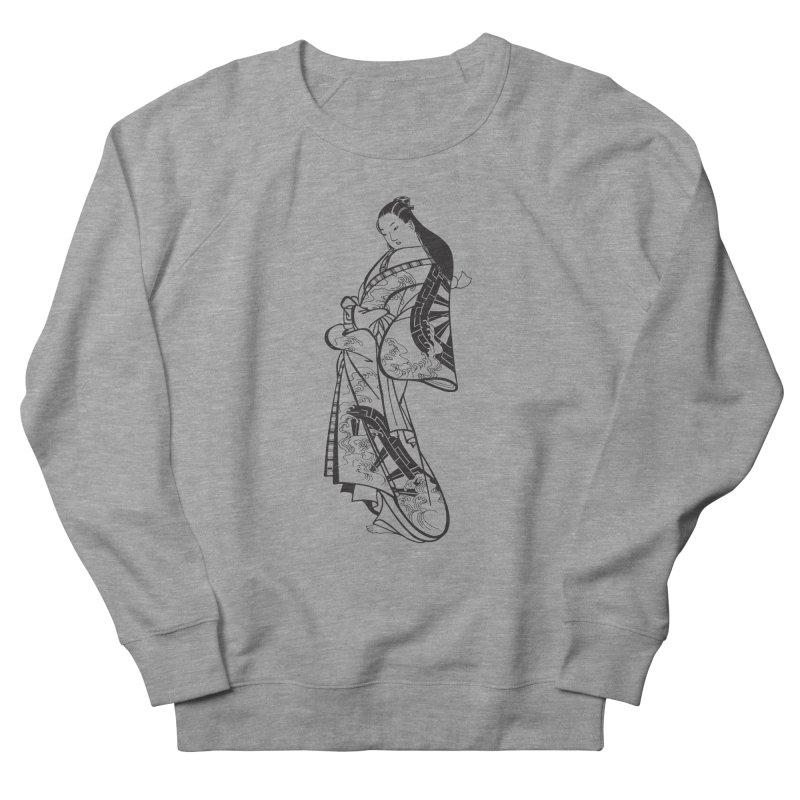 Geisha Women's French Terry Sweatshirt by Midnight Studio