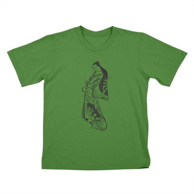 Geisha Kids T-Shirt by Midnight Studio
