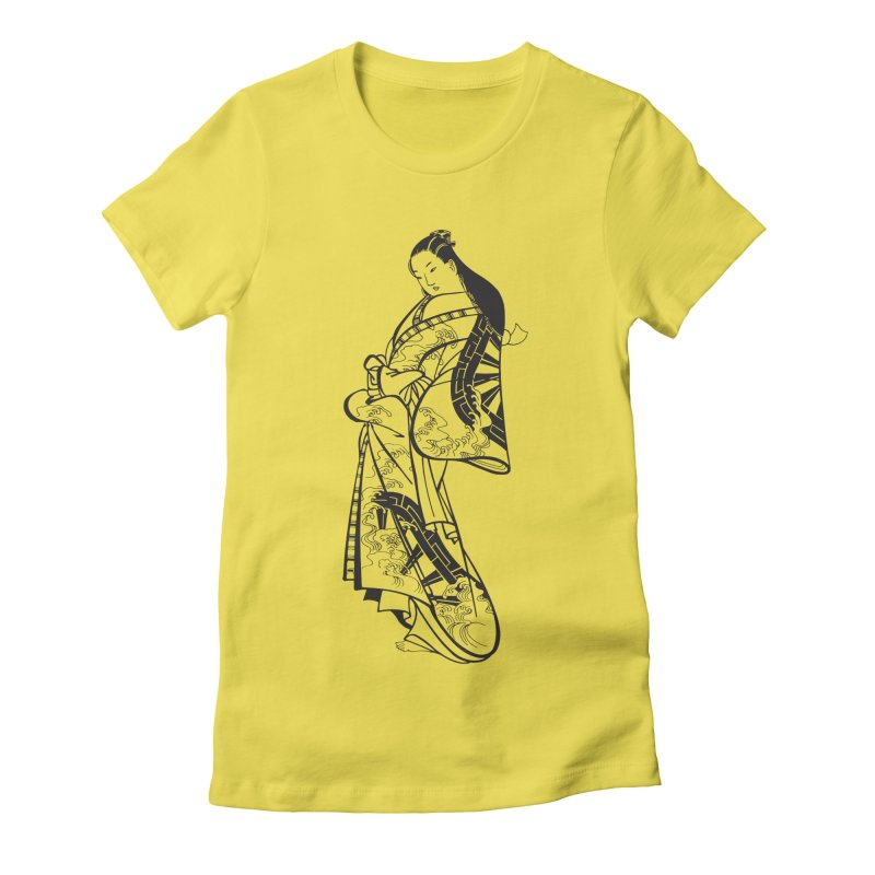 Geisha Women's T-Shirt by Midnight Studio
