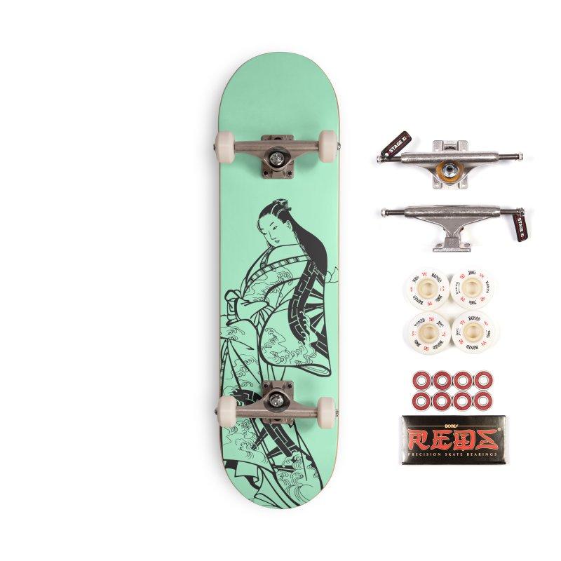 Geisha Accessories Complete - Pro Skateboard by Midnight Studio