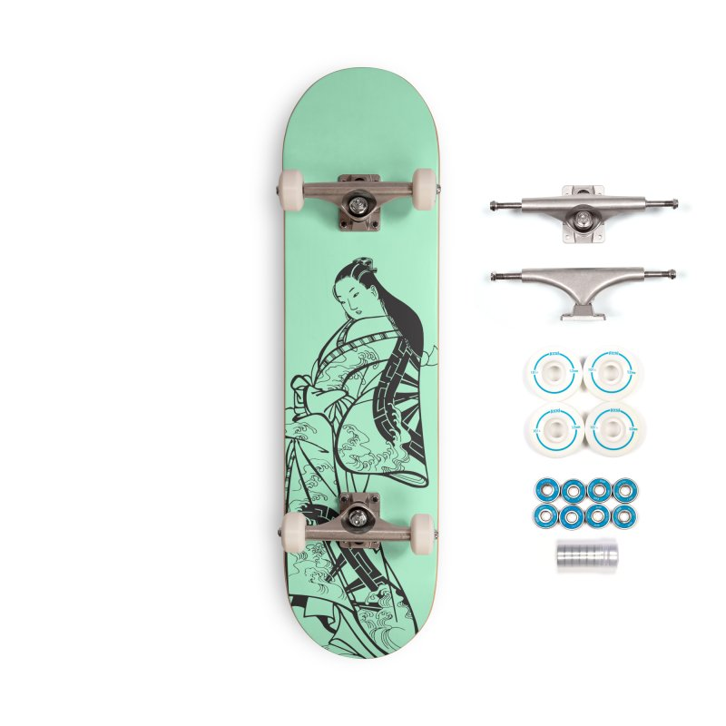 Geisha Accessories Complete - Basic Skateboard by Midnight Studio