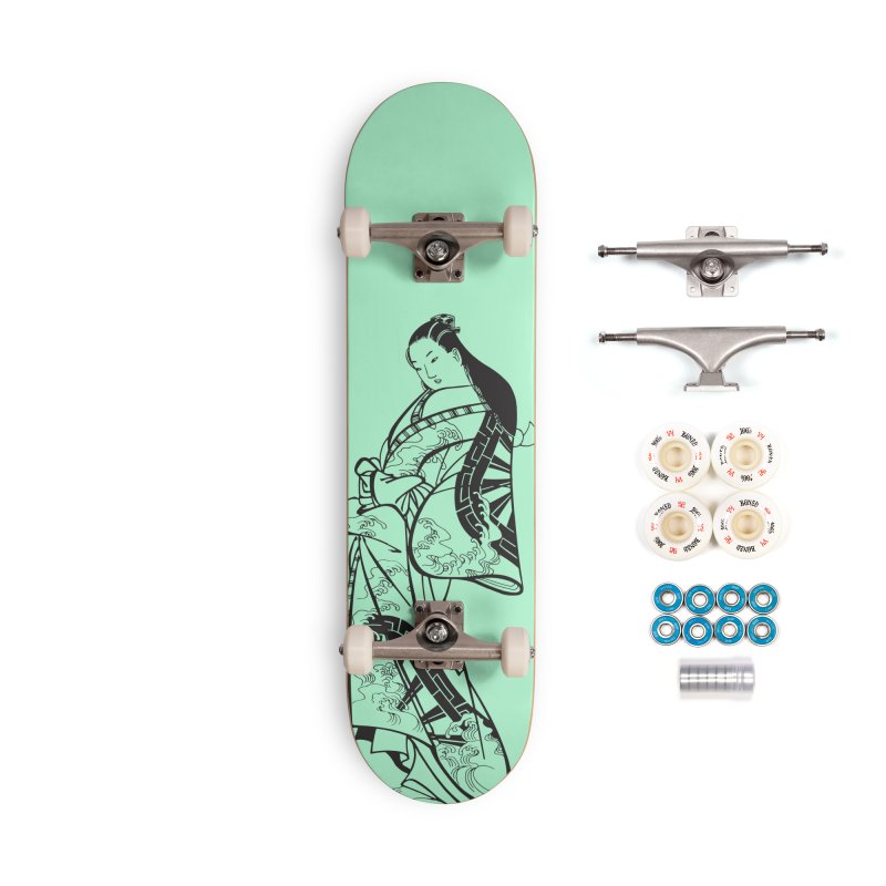 Geisha Accessories Complete - Premium Skateboard by Midnight Studio