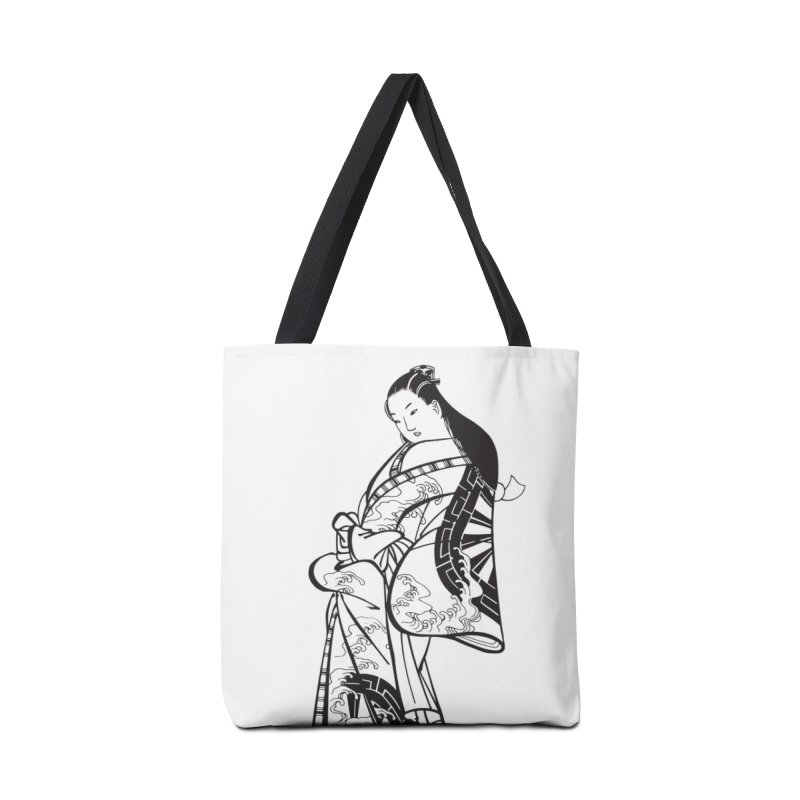 Geisha in Tote Bag by Midnight Studio