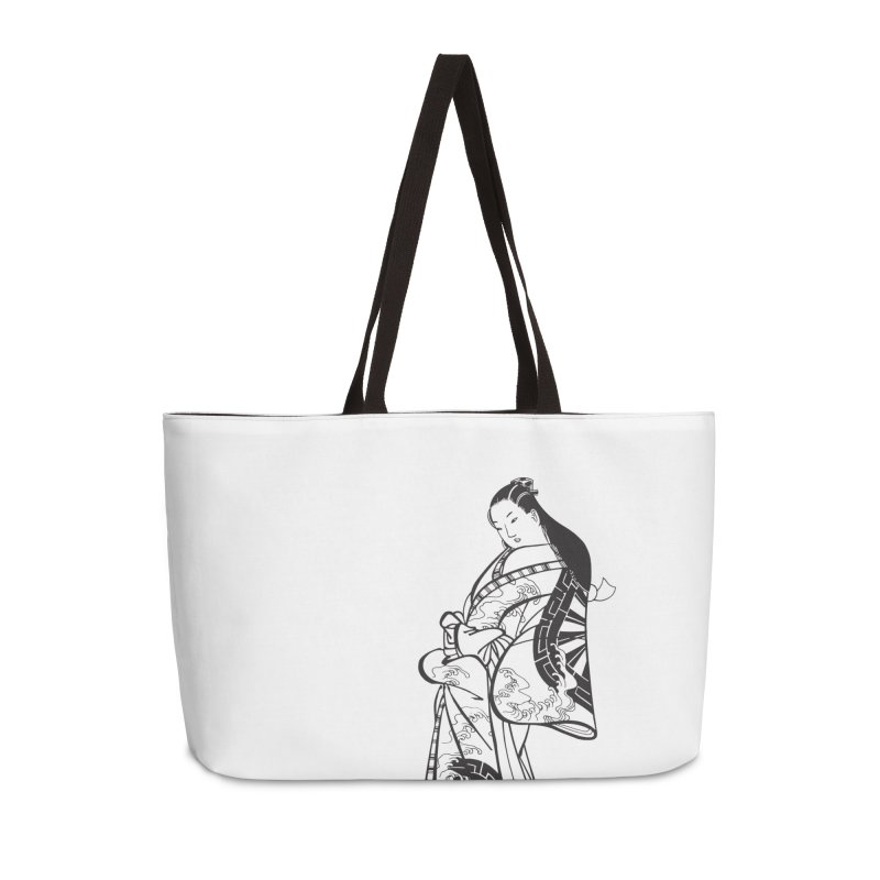 Geisha Accessories Weekender Bag Bag by Midnight Studio