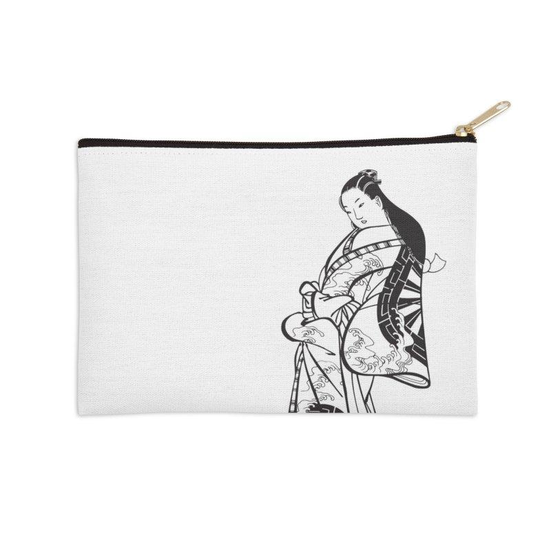 Geisha Accessories Zip Pouch by Midnight Studio