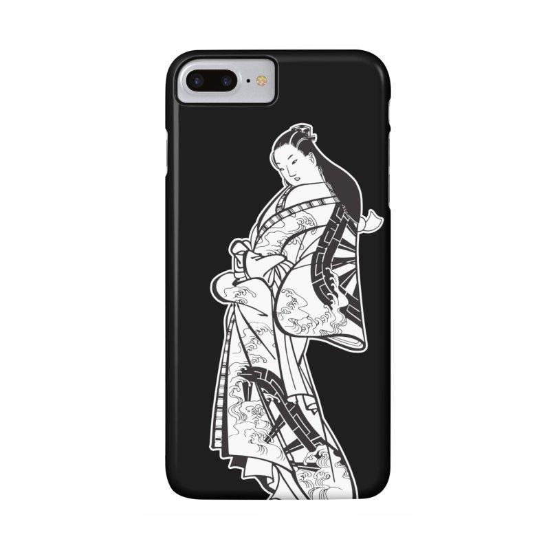Geisha - Black Accessories Phone Case by Midnight Studio