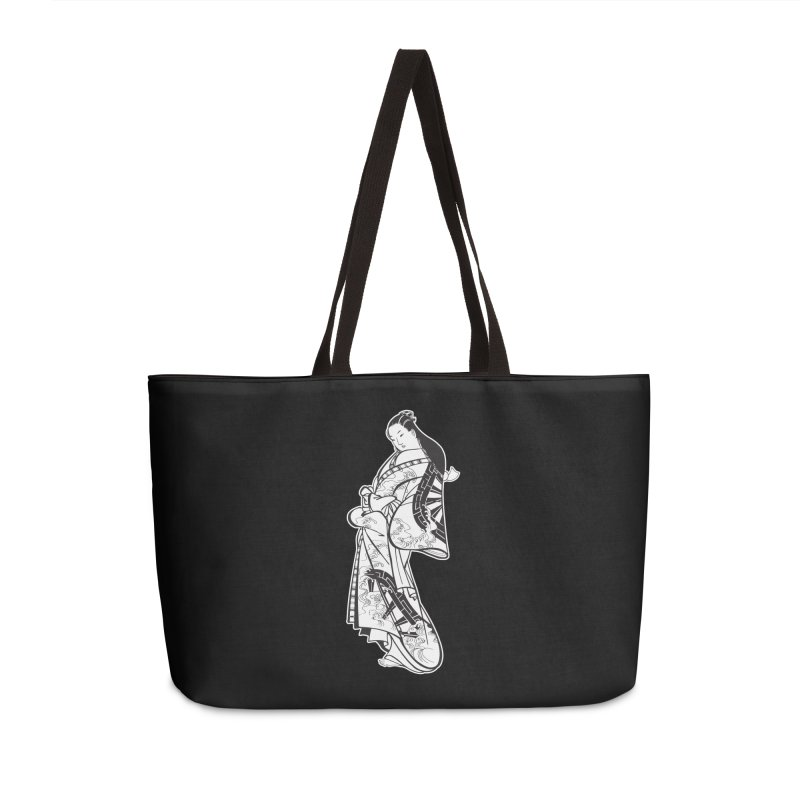 Geisha - Black Accessories Weekender Bag Bag by Midnight Studio