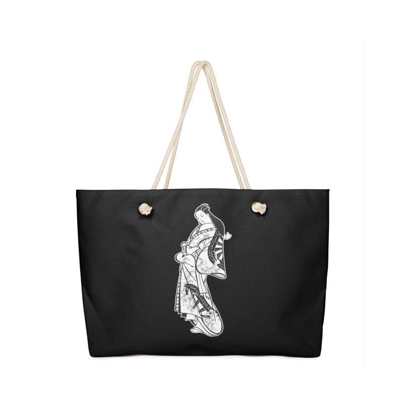 Geisha - Black Accessories Bag by Midnight Studio