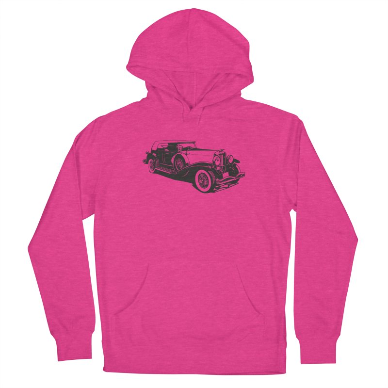 The Duesenberg Men's French Terry Pullover Hoody by Midnight Studio