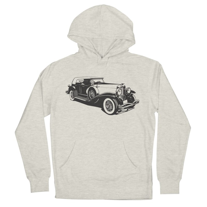 The Duesenberg Women's French Terry Pullover Hoody by Midnight Studio
