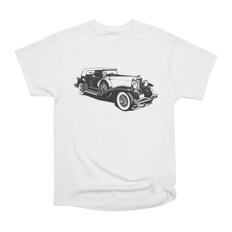 The Duesenberg Men's Heavyweight T-Shirt by Midnight Studio