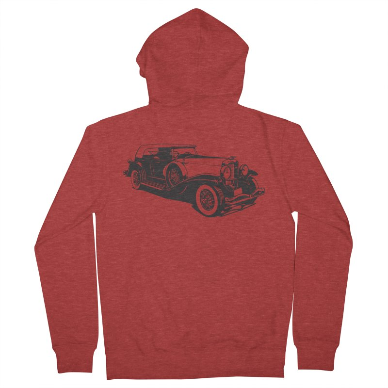 The Duesenberg Men's French Terry Zip-Up Hoody by Midnight Studio