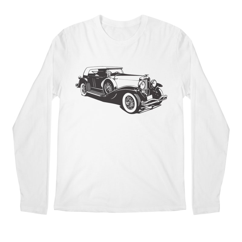The Duesenberg Men's Regular Longsleeve T-Shirt by Midnight Studio